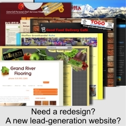 Need A Redesign, or Mobile Lead Generation Website?