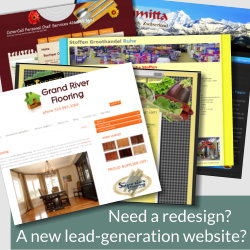 Need a redesign? Or a new lead generation website?